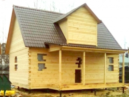 Дом 6х9 в деревне Новосиверская