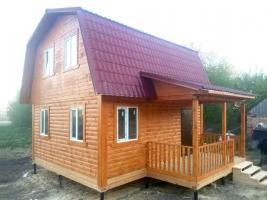Дом из бруса 6х6 в Тамбовской области