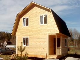 Дом из бруса 6х6 в поселке Соколинское