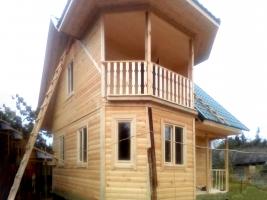 Дом 7х7 в поселке Красные Ткачи