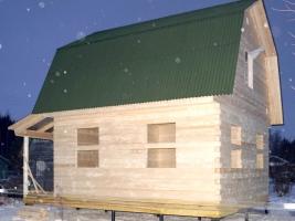 Брусовой дом в Ярославской области