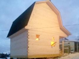 Дом 4х5 с террасой в Пикалево