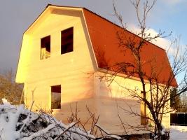 Дом 6 на 8 в поселке Грибное
