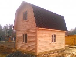 Дачный домик 6х4 Тихвин