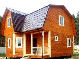 Дом из бруса 8х8 в Брянской области