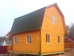 Дом из бруса 6х7.5 Волоколамский район