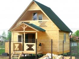 Дом из бруса 6х6 Можайский район