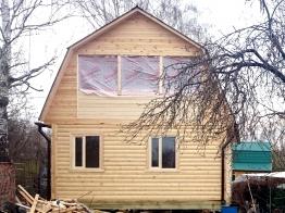 Дом из бруса 6х6 в Тульской области