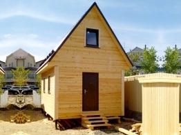 Дом из бруса 6х4 в деревне Юкки Ленобласти