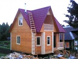 Дом 7х7 в деревне Вороновская