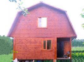 Дом 6х6 из бруса в городе Рыбинск