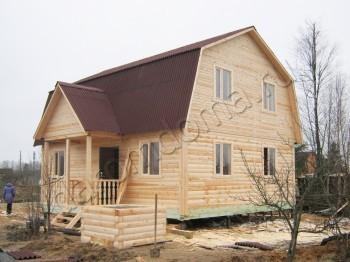 Дом из бруса 7х9 в СНТ Ручьи