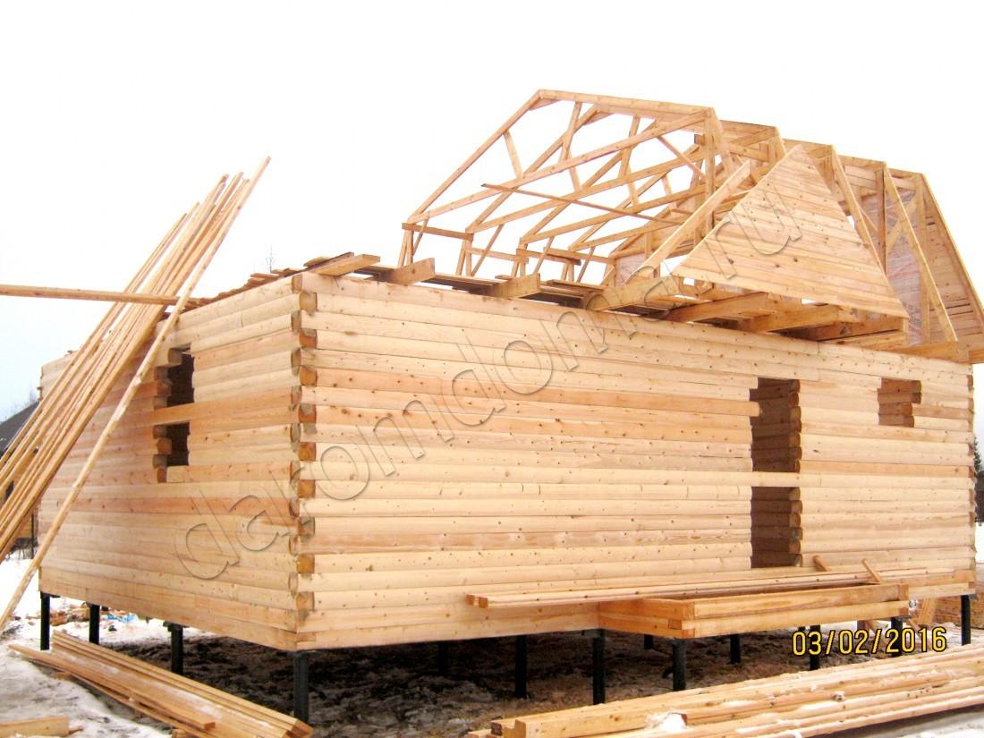 Дом из бруса 7х9 город Истра - 840000 руб.